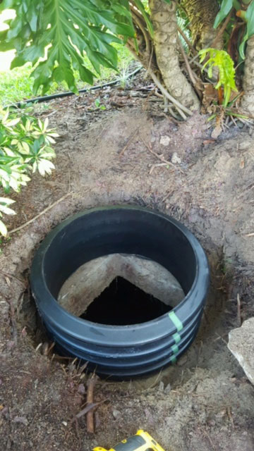 Installing Septic Risers