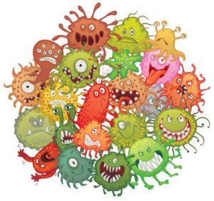bacteria in septic tanks