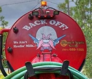 Septic Tank Humor And Funny Truck Signs Advanced Septic Services