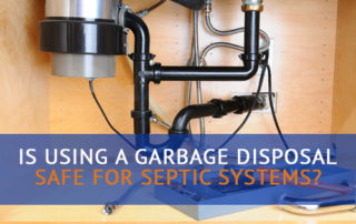 garbage disposal septic system