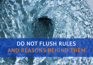 Do Not Flush Rules and the Reasons Behind Them