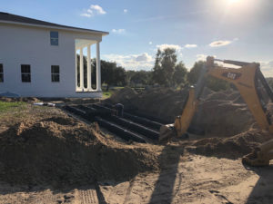 Drainfield Installation in Central Florida