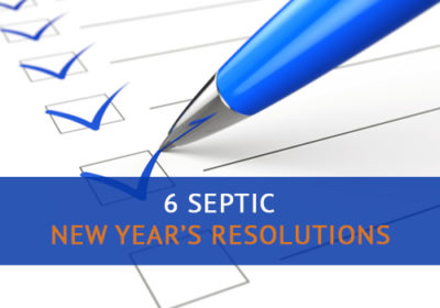Septic New Year's Resolutions