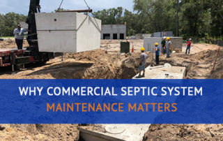Commercial Septic System Maintenance and Installation
