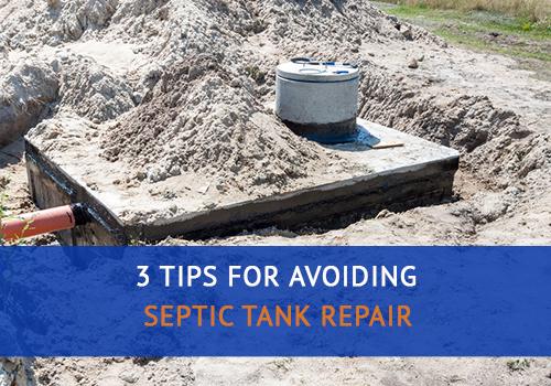 Avoiding Septic Tank Repair