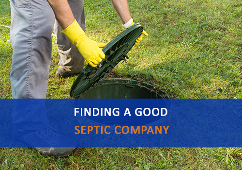 Finding a Good Septic Company