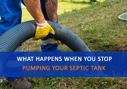 Technician Pumping Your Septic Tank, Advanced Septic Services