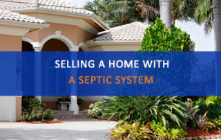 "Florida home with words ""selling a home with a septic system"""